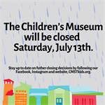 Museum Closure - Saturday, July 13th