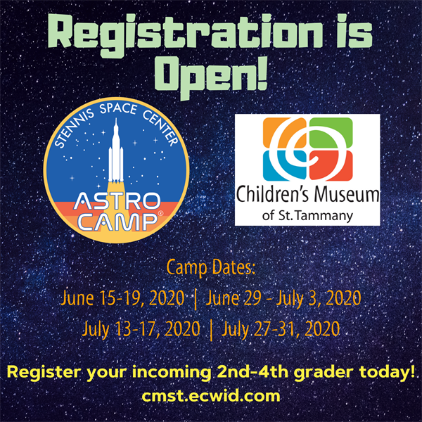 ASTRO Camp - Museum Closed to Guests July 27 - July 31