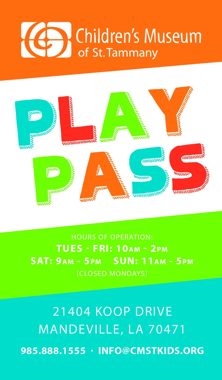 Play Passes Available Online and at CMST!
